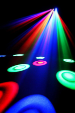 Involight OB200 - LED светильник многолучевой, 6 линз, 18 шт. х 3 Вт RGB, DMX-512