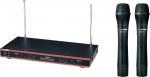 INVOTONE WM210 - радиосистема VHF 174-216мГц. двухантен. с двумя руч.микрофонами80…10000 Гц,С/Ш 90дБ