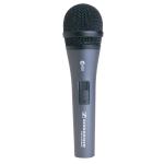 Sennheiser E825 S - Динамический вокальный микрофон, кардиоида, 80 - 15000 Гц, 350 Ом