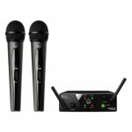 AKG WMS40 Mini2 Vocal Set BD US45AC - вок. радиосис (660.7/662.3МГц)c двумя ручными передатчиками