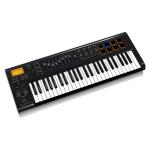 Behringer MOTOR 49 - USB/MIDI клавиатура, 49 клавиш, 9 моторизированных 60 мм фейдеров, 8 пэдов