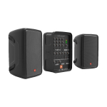 JBL EON208P активная портативная система 2х150Вт, 60 Гц – 20 кГц, 150 Вт - Китай