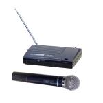 INVOTONE WM110 - радиосистема VHF 174-216МГц одноантенная с ручным микр 60Гц-13кГц,С/Ш>80дБ, 5 мВт,