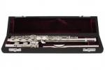 флейта trevor james 3041-cde, изогнутая и прямая головки, ми-мех флейты